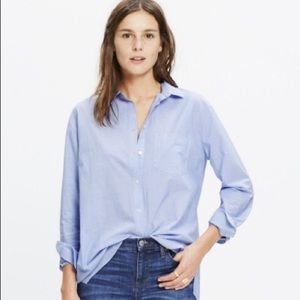 Madewell Oversized Boyshirt Button Down XXS